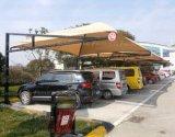 Carport die van het Zeil Carport wordt gemaakt van het Parkeren van de Auto van 13 Kleuren