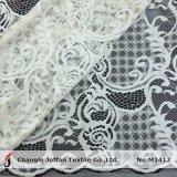 Le plus défunt tissu de lacet de tricot de mode pour le vêtement (M3412)