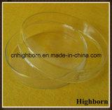 Freie runde niedrige Silikon-Quarz-Glas-Petrischale mit Kappe