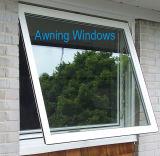 分岐ロックが付いているアルミニウム開き窓のガラス窓