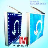 Señal de tráfico solar del alto brillo con la película reflexiva de los 3m