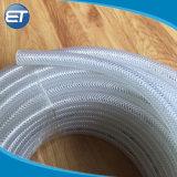 Poly tressé en PVC flexible et raccords pour l'eau de l'air de carburant