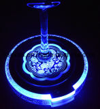 Acrílico LED barato drinque coasters ABS