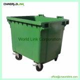 510 kg de carga caixote do lixo comunitário faz um cavalinho de plástico