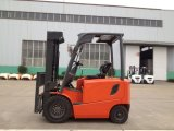 中国のブランドDCまたはACモーターを搭載する1.8トンの電気フォークリフト