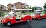 Bus classico elettrico dell'annata dell'automobile delle 6 sedi