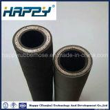 Manguito de goma hidráulico de alta presión resistente R12 del petróleo