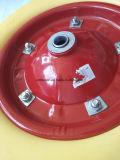 Rotella solida della gomma piuma dell'unità di elaborazione del pneumatico 3.25-8 per il carrello della carriola