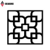 Ceiling Decoration를 위한 Ideabond Design CNC Carved Aluminum Perforated Panel