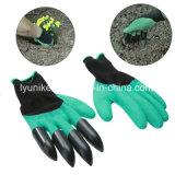 Сад с покрытием из пеноматериала латексные перчатки копания высевающего аппарата