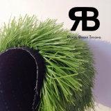 Futebol Artificial sintética durável de paisagismo Turf grama para decoração de campo