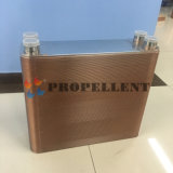 Placa de cobre soldadas de acero inoxidable del intercambiador de calor para cerveza
