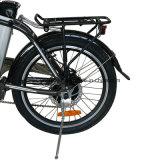 E-Bicicleta de dobramento da E-Bicicleta da bicicleta elétrica opcional poderosa elétrica profissional da bicicleta do fabricante 36V250W mini (TDN10Z)