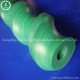 Espiral de nylon dos plásticos do mandril do parafuso usada na máquina do transporte