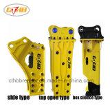 R55-7掘削機の黄色3のタイプ68油圧石のブレーカ