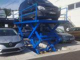 O estacionamento do equipamento de elevação Carro tesoura hidráulica