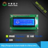 """módulo gráfico de 2.0 """" 32X122 LCD con el fondo azul"""