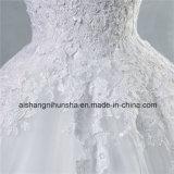 Rückseitiges Croset Hochzeits-Kleid für Braut gebildeten Abnehmer oben sich schnüren