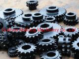 Fabrik-Hersteller kundenspezifisches schwarzes Behandlung-Kettenrad