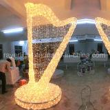 LED das luzes de Decoração de Natal Decoração Comercial