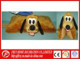 Het leuke Hete Dierlijke Hoofdkussen van het Stuk speelgoed van de Hond van de Pluche van het Ontwerp
