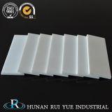 piatto di ceramica del macchinario personalizzato Al2O3 di 95% 99% di industria dell'allumina bianca della ceramica