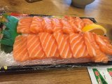 Casa de sushi Recipiente Embalagem Bandeja Sushi de serviço