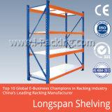 Prateleira resistente do armazém de Longspan para as soluções industriais 200-800kgs Udl do armazenamento/em nível