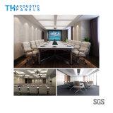 soffitto acustico decorativo della fibra di poliestere di Retartant della fiamma di 15mm per la sala riunioni