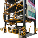 Strumentazione rotativa verticale di parcheggio di Pcx fatta in Cina