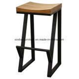 Cadeira ao ar livre do Nordic da tela do jardim de madeira curvado moderno da madeira contínua