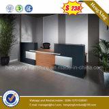 Piccolo scrittorio di ricezione della mobilia dell'ufficio del contatore di disegno di legno della Tabella (HX-5N253)