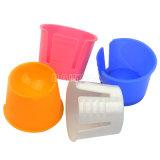 أسنانيّة بلاستيكيّة مستهلكة [دبّن] طبق