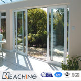 접히는 유리제 문을 미끄러지는 문 제조자 UPVC/PVC 플라스틱