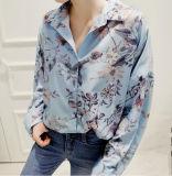 2018new Hot Digital Print Polo Women Shirt