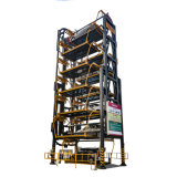Multi sistema d'acciaio rotativo livellato di parcheggio della struttura di parcheggio di Pcx