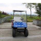 La Cina 6 carrelli di golf facenti un giro turistico elettrici della sede con il sedile posteriore 2