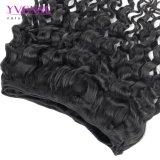 イボンヌの毛の100%年のバージンのペルーの人間の毛髪の織り方