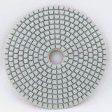 Пусковые площадки белого диаманта гибкие полируя для влажного использования только