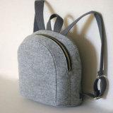 Kundenspezifischer Form-Filz-Beutel mit Außenseiten-Vorderseite-Taschen-Filz-Beuteln
