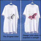 광색성 안료는 Sun/UV 빛 후에 변경을 착색할 수 있다