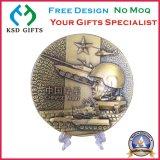 Изготовленный на заказ медали металла сувенира 3D/медальон/металлическая пластинка