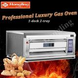 Einzelner Plattform-Bäckerei-Geräten-Brot-Backen-Pizza-Ofen