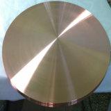 cible de cuivre ultra pure 6n pour le laiton Ultra-Pur