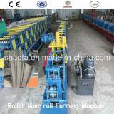 Hochwertige Stahlrahmen-Rollen-Blendenverschluss-Tür-Rolle, die Maschine bildet