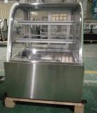 Étalage incurvé de réfrigérateur/gâteau de pâtisserie/coffret étalage de boulangerie (RL750A-S2)