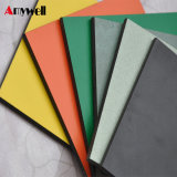 Amywell Formica de alta calidad resistente al agua sólida hoja de papel laminado fenólico de HPL