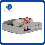 Los paneles de 6 grupos en paralelo combinador de plástico ABS de Verificación de 200VDC Sistema Solar