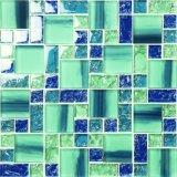 China la fabricación de piscina mosaico de azulejos de mosaico de cristal