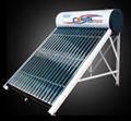 De directe ZonneVerwarmer van het Water